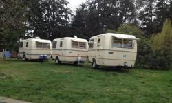 lightweight Trillium trailers for rent (similar to bolers or casitas) can sleep two adults and two small children fridge and stove $90 a night (three night min) $500 a week call for more info