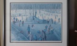 "A framed litho print by Horst Guilhawman titled ""Of Snow and Dreams"". Limited edition print signed and numbered, dated 1986. Has certificate of authenticity. Print is 20""x27"" - Frame 30""x36"". Asking $200.00 or best offer.   Emial or Phone 519-745-5895"
