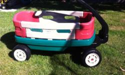 This wagon is great! Haul the kids around or just let the kids haul their own things around.