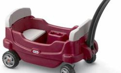 Little Tikes Cozy Cruisin' Wagon for Sale. Used, but in good condition. Below is info from the manufacture... We've taken the classic little red wagon to the next level with our complete selection of wagons for kids. Use them for walks around the