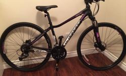 Less than a year old bike, pristine condition. Absolutely love the bike but I bought a different bike for a deal that I could not pass up. I have no need for two bikes so I am selling this one. The bike has been stored inside when not being used. The bike
