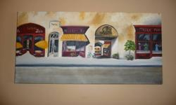 I am a local artist who loves to paint.......custom oils of your favorite scene or animal......professional canvas used...free estimates.........reasonable rates..........some samples shown    Venice scene------$80   Serenity Garden--$120