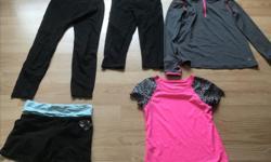Variety of dance apparel.