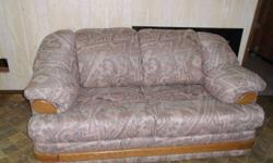 Rosey red tannish love seat for sale in good condition...   spiders, mice, bed bugs, lice, free!!!! please email or text Thanks