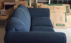 Excellent condition 2 seater love seat. No rips or tears, non smoking, pet free house. Moving and need to downsize.
