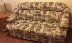 Love seat/Single Hide-a-bed. Good Condition