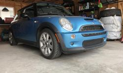 Make MINI Model Cooper S Year 2003 Colour Blue kms 106000 Trans Manual Have you ever wanted to have the feeling of being shot out of a cannon in a leather lined bathtub? Then you've come to the right place! Paired with a 6 speed manual transmission