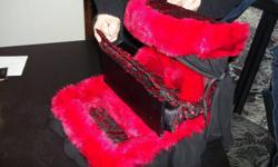Handcrafted doll bed/jewelry box for 65.00. also taking custom orders on pet beds, doll furniture and whatever can be sewed together.