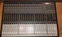 Was lightly used by a church. Just taken out of service and works perfectly. This board was a real pleasure to mix on, and had excellent sound. Open to offers. Checkout my other adds for more used equipment.