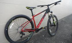 We currently have a Medium Marin Nail Trail 6 on Sale for $1250, down from $1600. Some of the specs are as follows.. -Sram NX shifters -Sram NX derailleur -Shimano hydraulic disc brakes -Rockshox Recon through axle, with lockout fork -Schwalabe Nobby Nic