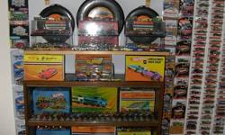 . i am not interested in parting it out. included is close to 600 redlines in varrious conditions. including a near complete rockymountain mining set. lots of race sets and cases from the 60s-80s. in total there are probabaly 12000 cars or more. lots of