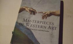 Masterpieces of Western Art, hardcover, 760 pages. Artist to artist, era to era, century to century, Masterpieces of Western Art traces the history of painting from medieval times to the present day. But unlike conventional publications, that merely