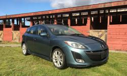 Make Mazda Model 3 Year 2011 Colour blue kms 123000 Trans Manual Excellent condition Mazda 3 GT, with a sporty 2.5L engine. Quick, agile, and economical, this two owner car has been adult driven and very well cared for. Black leather interior with heated