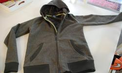 Hardly worn girls MEC shell jacket. Perfect for back to school. Retails at $115.