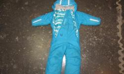 This suit is awesome. So well made. Great design. So warm. Each of my kids wore it for three winters, just rolled up the cuffs. I'd say you could fit anywhere from 2 to 5yrs old. It shows virtually no signs of wear, as we don't get a ton of snow to