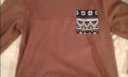 Nice sweater. Size large. Worn once. Text/email