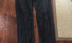 Perfect shape dark blue mens jeans by armani. Size 32x32