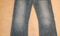 I no longer wear these so I am looking to get rid of them. They are in great shape, no rips or stains. They are a size 30. Made by Guess. I am looking for best offer so please email me with a cash offer. Thanks in advance