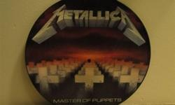 UK release Metallica Master Of Puppets picture disc. MFN 60P. Excellent condition. will not ship.