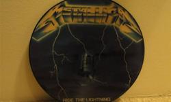 UK release Metallica Ride The Lightning picture disc. MRN 27P. Excellent condition. Will not ship.