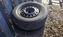 """Used 16"""" 205 Michelin HydroEdge Tires some ware and tare but overall still in excellent condition. $350 O.B.O cal 2896907955 if interested"""