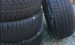 Set of 4 Winter Tires...used only one season. They were on a SUV Ford Escape 2014.