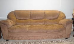 Very nice set of microfiber couches for sale, in good condition. quick sale, we will accept best offer. The set is brown and very comfortable. please call 604-931-8708
