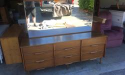 this is a really nice piece in excellent condition. its from a very clean non smoking no pets home. the drawers all slide perfect. I can deliver. 250 208 3174. ALSO HAVE MATCHING NIGHT TABLES 72 x 18 x 30 high