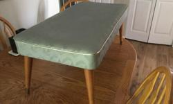 Mid Century Modern Ottoman Excellent Condition OBO