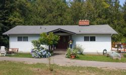 # Bath 2 Sq Ft 2705 MLS 412725 # Bed 4 Rural, no -thru road, great location for Victoria Commuters. 1.8 acres bordering Hollings Creek in Briarwood Park, set up for horses, chickens and other critters. 2 stall barn with feed room, hay barn holds 200