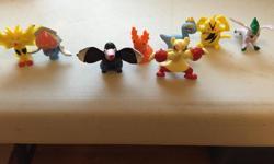 Bag of 20 random mini figures