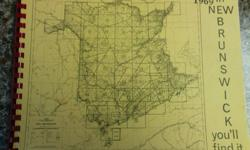 Complete Geology Maps of all of New Brunswick in the 1960's.