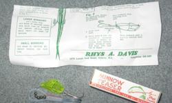 Minnow teaster rhys davis salmon fishing lure trolling .Steve 250-479-8348