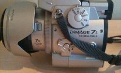 For sale, Minolta Dimage 7i in excellent shape! This camera has little signs of wear and in excellent shape, included in this package is the box, manuals, software, USB cable and carry case. $60 located in Burnaby (Metrotown). or meet up at a skytrain
