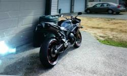 """Have a 2007 R1 Yamaha in immaculate shape with 12000 kms. Heated garage kept. Just got but realized Don, t fit very well as 6'4"""""""". Might entertain trades that would fit. Nicest I,ve seen as colour looks awsome."""