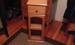 These are beautiful little cabinets. Could really be used for alot things. 1 for $10 or both for $15 Little table $5 Canon Pixma MP 620 excellent condition some new ink cartridges with CD $25 Dresser wood with Granite Top $30 Wood Coffee table $20 Black