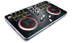 Almost new, used twice, in the box with an retail cost of $250+taxes. From Numark, the world's leading creator of DJ technology, comes Mixtrack Pro II?now with a streamlined design and an expanded layout of professional controls, including 16 backlit