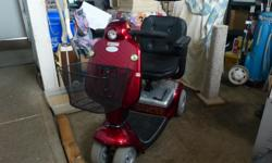 Shoprider Deluxe Mobility Scooter, 2010, excellent condition, lady-driven, barely used, easy to operate, basket. $1200 OBO. Please email.