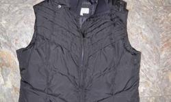 Black Mondetta vest. Gently worn, size small. Let me know if you'd like to see more pictures