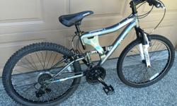 Very good condition, dual brakes, Front and Rear Shocks, 24 Inch Wheels