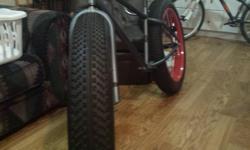 No crank or chain, brakes are bush back