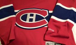 New with tags, Montreal Canadiens Jersey Size Small.