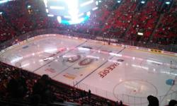2 tickets available Montreal Canadiens vs Boston Bruins   Monday November 21, 2011 730pm Bell Centre Montreal QC   Seats are located in Section 333 Row D Habs shoot twice at this end. Great seats! Game sold out! $300 for the pair Come see Lucic, Chara and