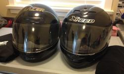 1 Helmet: XPeed XG Garbon Kevlar Mix Size sm new condition used only ones,asking $225.00 (best helmet available) 1 Hetmet: Lazer Legend Size Med Mildly Used, great condition asking $110.00 or best offer Men's Jacket, Vented Teknic Size Large (46)
