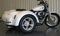 MOTOR TRIKE CONVERSION for MOST HARLEY DAVIDSON MODELS FINANCING AVAILABLE FOR QUALIFIED BUYERS MODEL COMPLETE KITS ARE FACTORY MANUFACTURED IN THE USA 60,000 MILE WARRANTY KEY FEATURES INDEPENDENT REAR SUSPENSION NOT SOLID AXLE PLUS AIR RIDE SUSPENSION