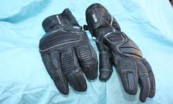 Kevlar medium leather motorcycle gloves