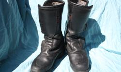 SIDI motorcycle riding boots leather size 43 new $450