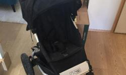 Great stroller. I paid 650.00 for this stroller at TJs. Price is reflecting the need to blow up tubes in tire and a little mud splatter on hood and where child's feet rest but you can most easily wipe this off I'm sure.