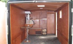 Reluctantly offering my 2014 TNT cargo trailer single axle model with very low (about 200 KM total) usage. GVW 1356KG, GAWR is 3500 lbs., it has double rear barn doors, a single side door, one roof skylight/vent, one sidewall sliding window and comes with