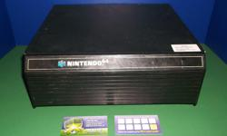 Item: This is a case used to store N64 condition. Used condition but the largest of the cases available for N64 games. These weren't made out of great material so they are prone to having chips and damage. The over all condition for this item is fair. All
